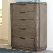 Precision - Five Drawer Chest - Gray Wash Finish