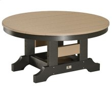 "38"" Round Conversation Table"