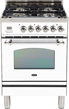 "True White - Nostalgie 24"" Gas Range"