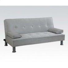 Silver Pu Adjustable Sofa