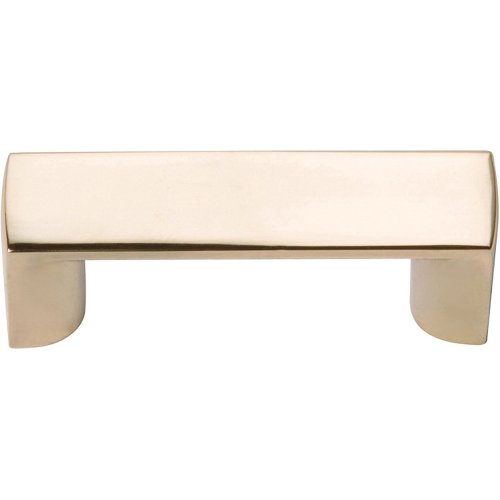 Tableau Squared Handle 1 7/16 Inch - French Gold