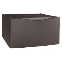 """15.5"""" Laundry Pedestal with Storage Drawer Model XHP1550VJ - Scratch & Dent / Limited Inventory"""