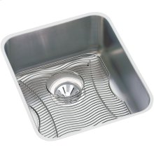 "Elkay Lustertone Classic Stainless Steel 18-1/2"" x 18-1/2"" x 7-7/8"", Single Bowl Undermount Sink Kit"
