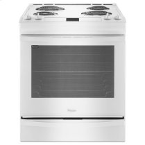 Whirlpool® 6.2 cu. ft. Front-Control Electric Range with AccuBake® System - White