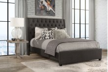 Churchill Cal King Bed - Onyx Fabric