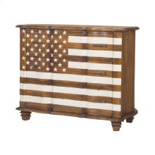 Westward Chest In Honey Stain and White
