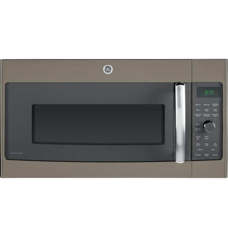 Ge Profile Series 1 7 Cu Ft Convection Over The Range Microwave Oven