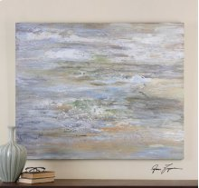 Misty Morning Hand Painted Canvas