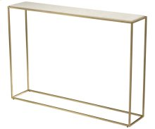 Misty Stone Rectangular Console Table