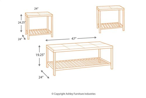 T183-13  Occasional Table Set (3/CN)