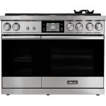 """Dacor48"""" Range, Stainless Steel, Natural Gas"""