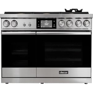 "Dacor48"" Range, Stainless Steel, Liquid Propane/High Altitude"