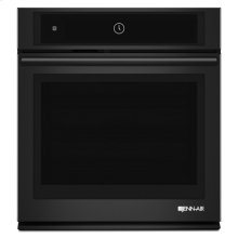 """Black Floating Glass 27"""" Single Wall Oven with MultiMode® Convection System"""