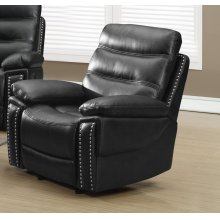 Black Leather Motion Recliner