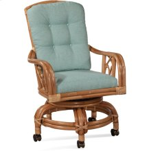 Edgewater High Back Swivel Rocker Chair
