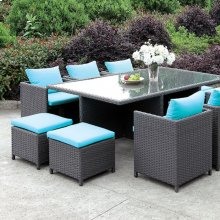 Ashanti 11 Pc. Patio Dining Set