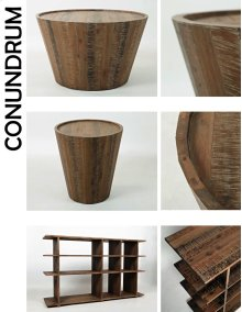 Conundrum End Table