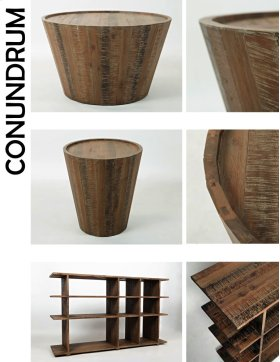Conundrum Cocktail Table