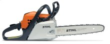 A lightweight, fuel-efficient chainsaw with reduced-emission engine technology.