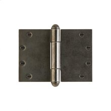 """Butt Hinge (wide throw) - 5"""" x 7"""" Silicon Bronze Brushed"""