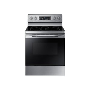 5.9 cu. ft. Freestanding Electric Range with Warming Center - STAINLESS STEEL