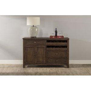 Hillsdale FurniturePark Avenue Server - Walnut (wire Brush)