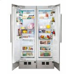 Viking24 Fully Integrated All Refrigerator with 5/7 Series Panel, Right Hinge/Left Handle