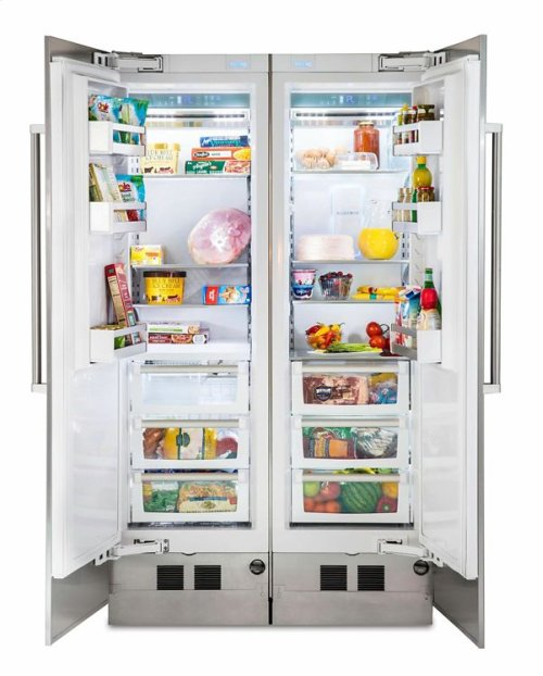 24 Fully Integrated All Freezer with 5/7 Series Panel, Right Hinge/Left Handle