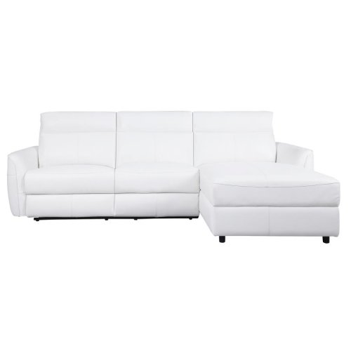 Cecelia Casual White Power^2 Sectional