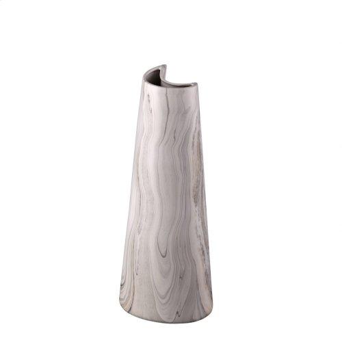 Carrara Vase Crescent