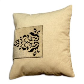 Braxton Pillow Wheat Cotton