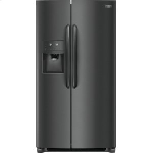 Gallery 22.2 Cu. Ft. Counter-Depth Side-by-Side Refrigerator - BLACK STAINLESS STEEL