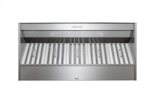 """48"""" Stainless Steel Built-In Range Hood for use with External Blower Options"""