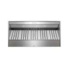 "48"" Stainless Steel Built-In Range Hood for use with External Blower Options"