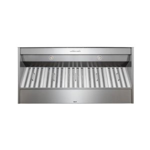 "Best48"" Stainless Steel Built-In Range Hood for use with External Blower Options"
