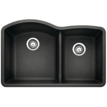 Blanco Diamond 1-3/4 Bowl With Low-divide - Anthracite