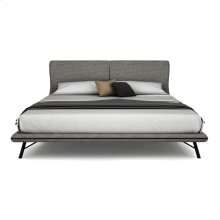 Queen / King Bed, upholstered