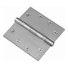 Square Ball Bearing Hinge - Antique Satin Bronze
