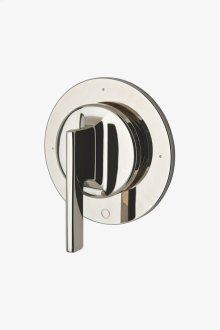 Formwork Three Way Diverter Valve Trim for Thermostatic System with Metal Lever Handle STYLE: FM3T10