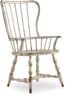 Sanctuary Spindle Back Arm Chair