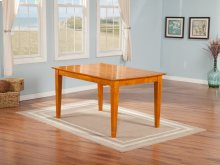 Montego Bay Dining Table 36x48 in Caramel Latte