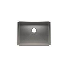 """J7® 003920 - undermount stainless steel Kitchen sink , 24"""" × 17"""" × 10"""""""