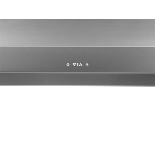 "Heritage 42"" Chimney Wall Hood, Silver Stainless Steel"