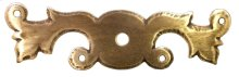 Classic Keyhole Escutcheons Plate (round hole)
