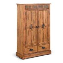 Sedona Pantry w/ 1 Drawer & 3 Shelves