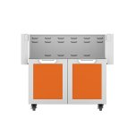 "Hestan36"" Hestan Outdoor Tower Cart with Double Doors - GCD Series - Citra"