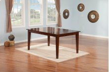 Montreal Dining Table 36x48 in Walnut