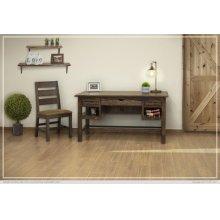 3 Drawer Desk & 2 Shelves Desk