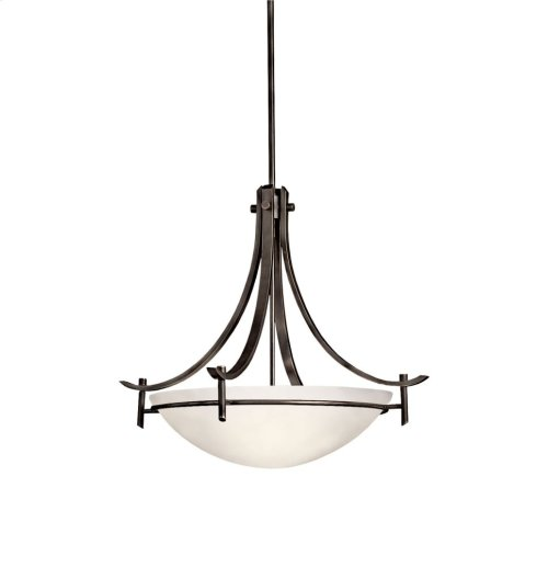 Olympia 3 Light Inverted Pendant Olde Bronze®