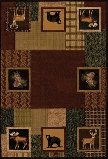 Contours/donna Sharp Corbin Square Toffee Rugs